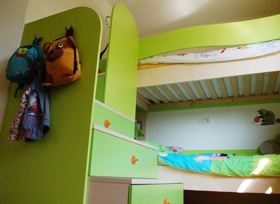 Otroška soba za dva otroka